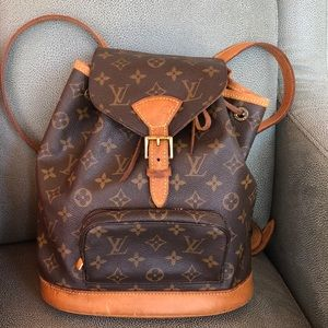 Authentic Louis Vuitton MM backpack
